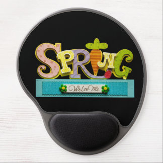 Welcome Spring Gel Mouse Pad