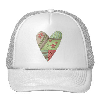 Welcome Spring · Heart Mesh Hats