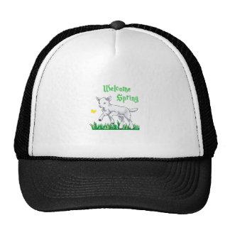 WELCOME SPRING LAMB CAP