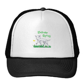 WELCOME SPRING LAMB HATS