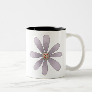 Welcome Spring · Mauve Flower Coffee Mugs