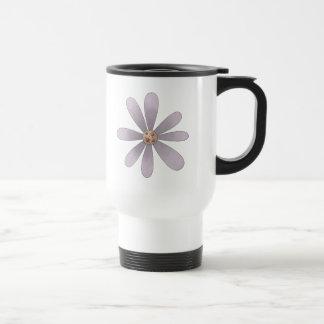 Welcome Spring · Mauve Flower Coffee Mug