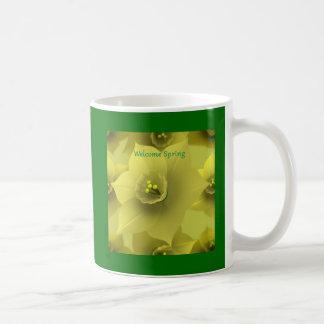 Welcome Spring Coffee Mugs