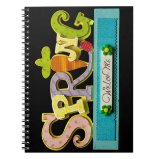 Welcome Spring Notebooks