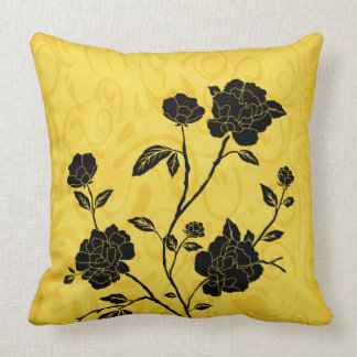 Welcome Spring Ornate Vintage Flowers Throw Cushions
