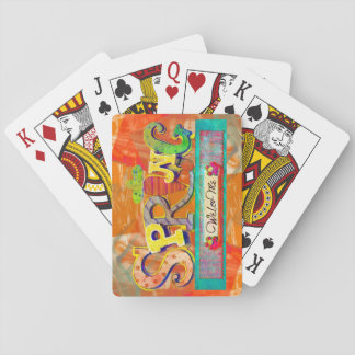 Welcome Spring Poker Deck
