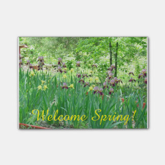 Welcome Spring Post It Note Post-it® Notes