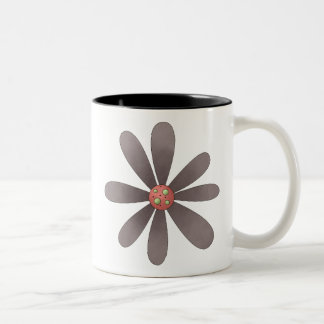 Welcome Spring · Purple Flower Mugs
