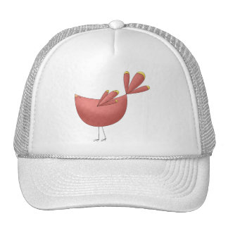 Welcome Spring · Red Bird Mesh Hats