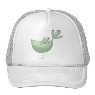 Welcome Spring · Teal Bird Hats
