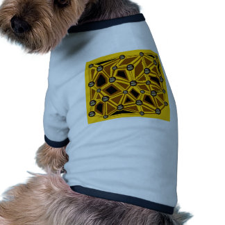 welcome the summer with this bright yellow color dog t-shirt