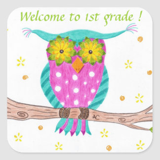 Welcome to 1st grade stickers