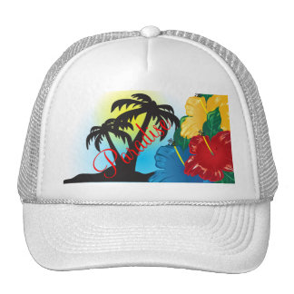 Welcome to a Beautiful Tropical Paradise Cap