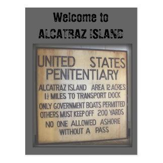 Welcome to ALCATRAZ Postcard