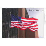 Welcome to America!  Congratualtions/Citizenship Greeting Card