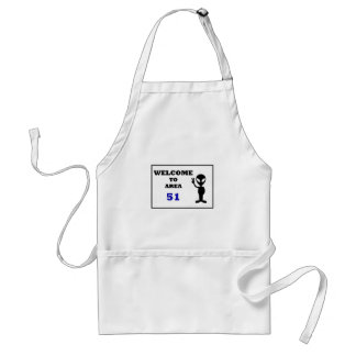Welcome To Area 51 Standard Apron