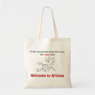 Welcome to Arizona! Tote bag!
