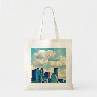 Welcome to Atlanta, Ga tote bag
