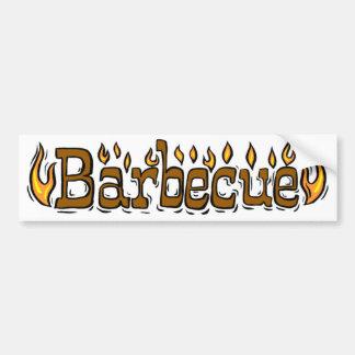 Welcome To Barbecue Bumper Sticker