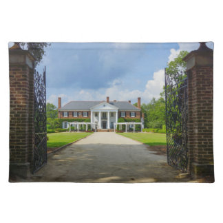 Welcome To Boone Hall Place Mat