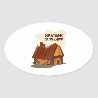Welcome To Cabin Stickers