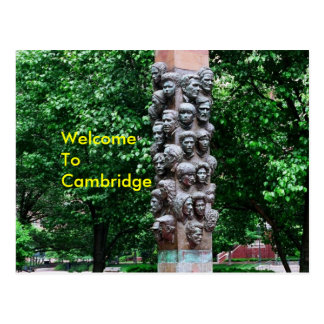 Welcome To Cambridge Postcard