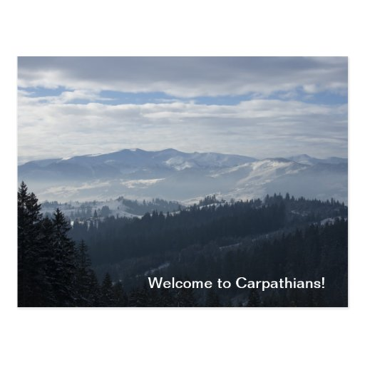 Welcome to Carpathians! Postcards