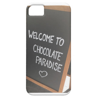 Welcome to chocolate paradise phone case