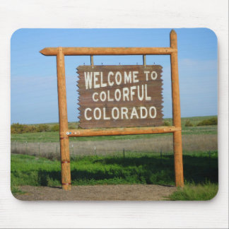 Welcome to Colorful Colorado Mouse Pad