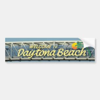 Welcome to Daytona Beach Car Bumper Sticker