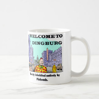 Welcome To Dingburg #2 Basic White Mug