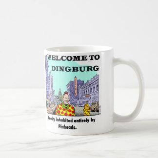 Welcome To Dingburg #2 Basic White Mug