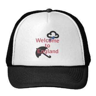 Welcome to England! Mesh Hats