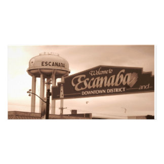 Welcome to Escanaba Customized Photo Card