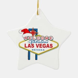 Welcome to Fabulous Las Vegas Christmas Christmas Ornament
