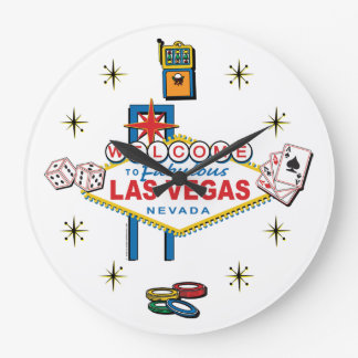 Welcome to Fabulous Las Vegas Clock