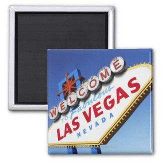 Welcome To Fabulous Las Vegas Fridge Magnet
