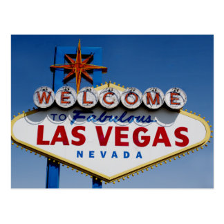 Welcome To Fabulous Las Vegas Historic Sign Postcard