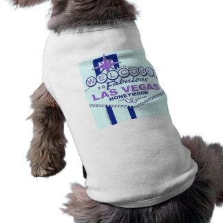 Welcome to Fabulous Las Vegas Honeymoon Sleeveless Dog Shirt