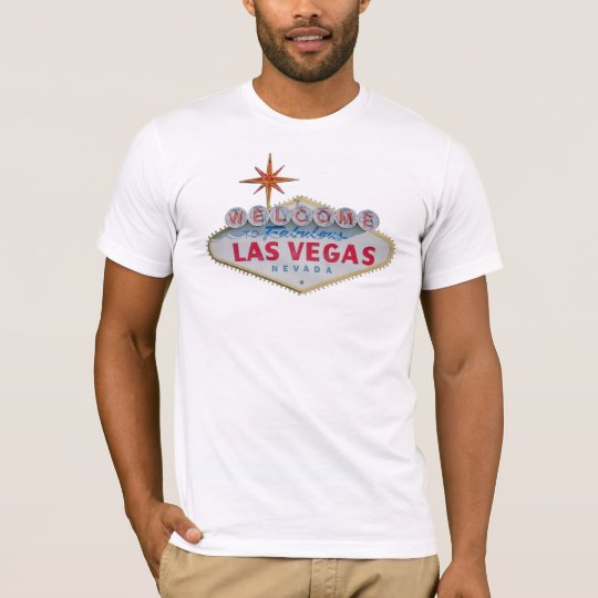 Welcome to Fabulous Las Vegas Mens White T-Shirt