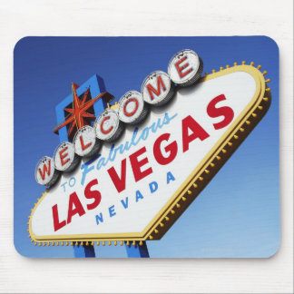 Welcome To Fabulous Las Vegas Mouse Mat