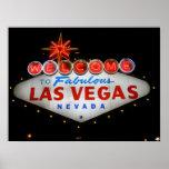 Welcome to Fabulous Las Vegas Neon Poster Print