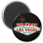 Welcome to Fabulous Las Vegas - Nevada 6 Cm Round Magnet