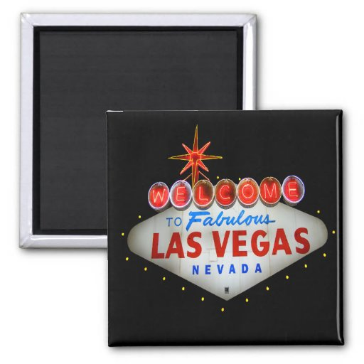 Welcome to Fabulous Las Vegas Nevada Magnet