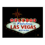 Welcome to Fabulous Las Vegas - Nevada Postcard
