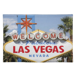 Welcome to Fabulous Las Vegas Nevada Sign Placemat