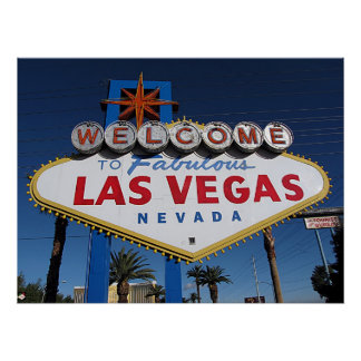 Welcome to Fabulous Las Vegas Poster Print