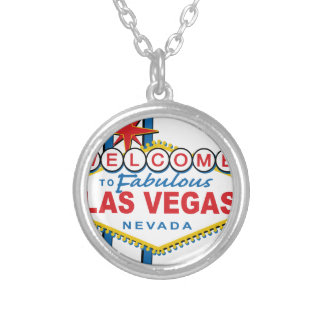 Welcome to Fabulous Las Vegas Silver Plated Necklace