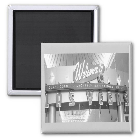 Welcome to Fabulous Las Vegas Square Magnet