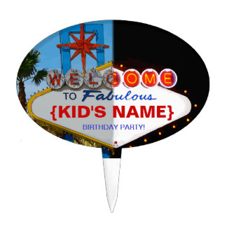 Welcome to Fabulous Your Birthday Party Cake Topper